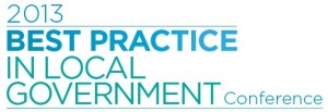 Best practice in local govt conference logo