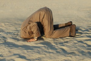 Head in the sand shutterstock_2541043
