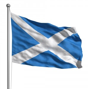 Scottish Flag shutterstock_91984709