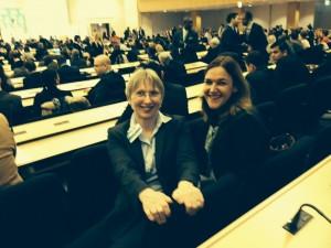 Carol Adams & Nancy Kamp-Roelands, UN Geneva