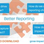 Towards better social and environmental impact reporting