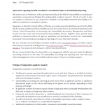 Open letter to the Chair of the IFRS Foundation Trustees from Professors of Accounting