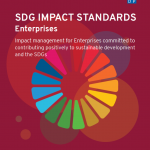 UNDP's SDG Impact Standards for Enterprises